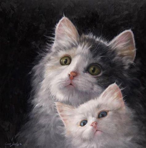 do cat painting white cat paintings gary jenkins when do we eat