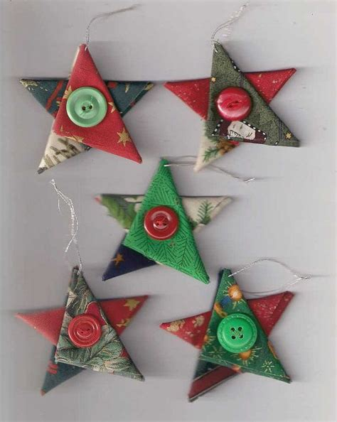 fabric decorations 1000 ideias sobre enfeites de natal vintage no