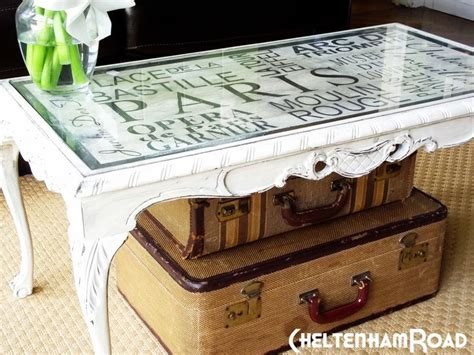 table decoupage ideas diy decoupage coffee table same as it never was