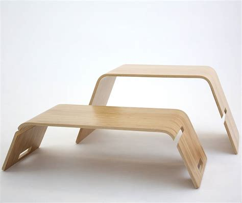 plywood coffee table embrace bent plywood coffee table by green