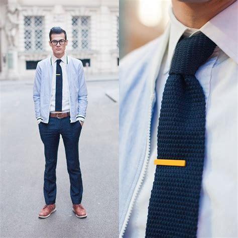 how to wear knit ties chris nicholas tie clip knit tie 117 lookbook