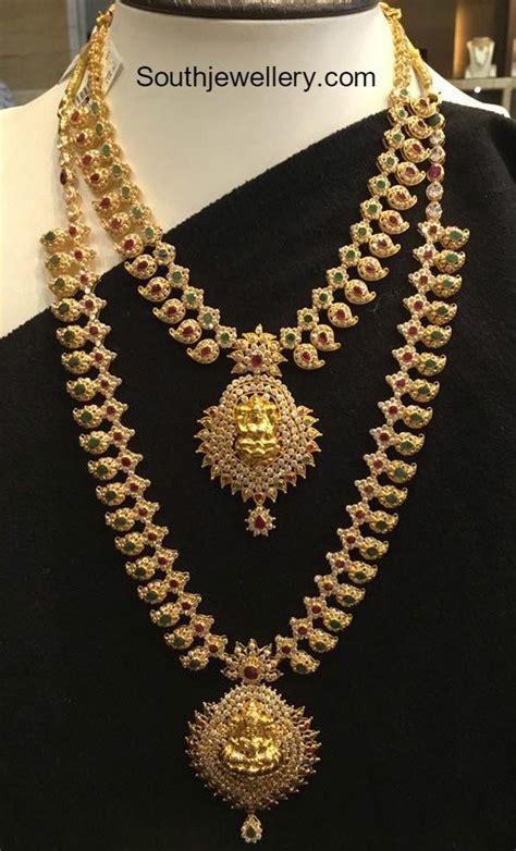 gold haram gold chain jewelry designs jewellery designs