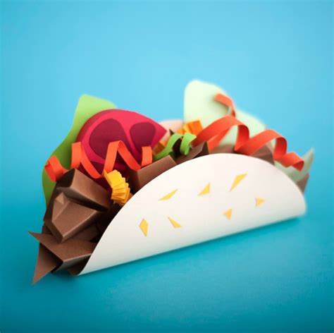 food crafts paper craft sculptures of food inspiration now