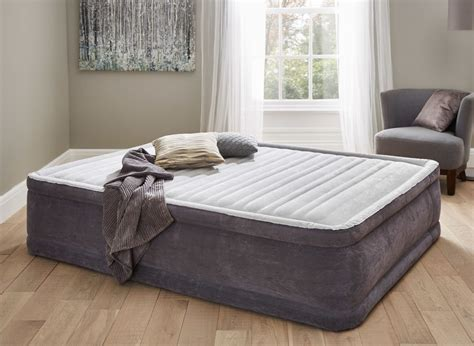 air mattress beds with frame comfort air bed king size dreams