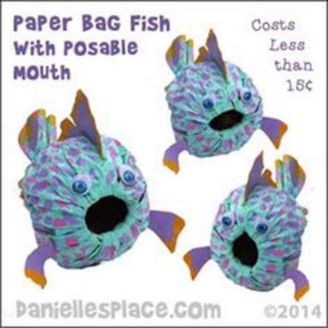 paper bag fish craft 1000 ideas about fish bags on tackle bags