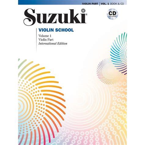 Suzuki Violin Book 1 Cd suzuki violin school method book and cd volume 1 shar