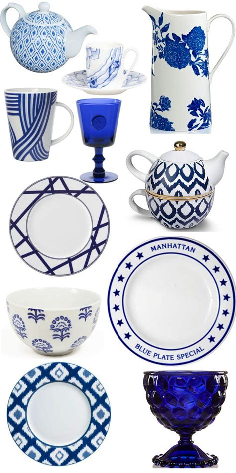 Navy   Blue Dinnerware ? There's No Place Like Home