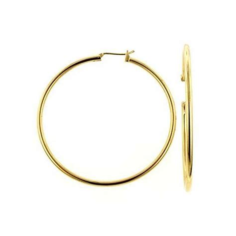 how to make gold filled jewelry gold filled classic hoop earrings 2 5 inches