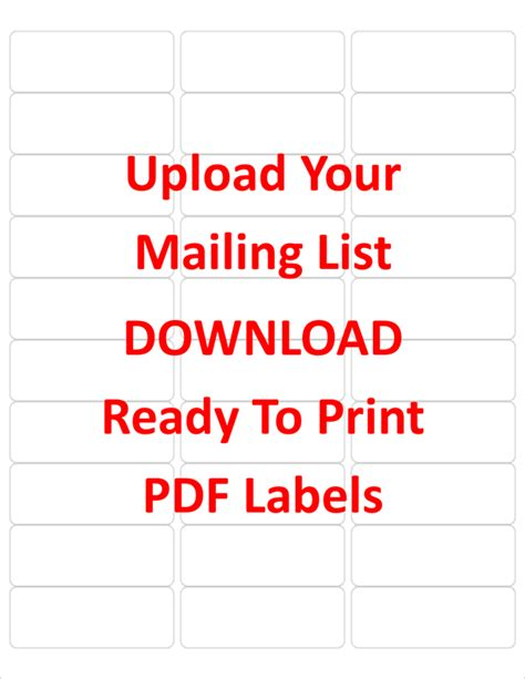 16 avery 5263 label template avery 5163 word template