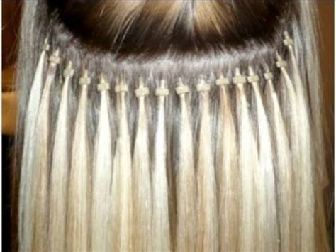 micro bead extensions for thin hair how to micro ring loop hair extensions