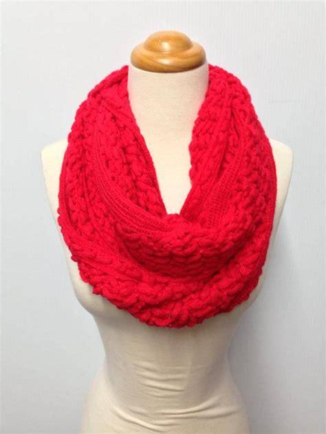 2 color knit scarf pattern two knit pattern 9 color infinity scarf ebay