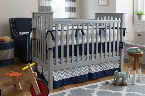crib bedding grey navy and gray elephants crib bedding carousel designs