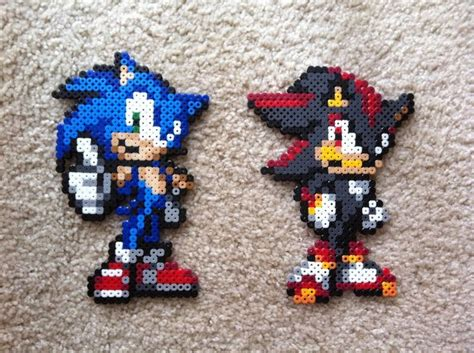 sonic perler 113 best images about sonic the hedgehog on