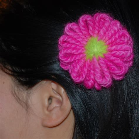 how to knit a flower on a loom knifty knitter knitting loom flower ideas for my