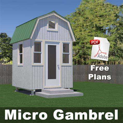 micro home plans free plans tiny house design