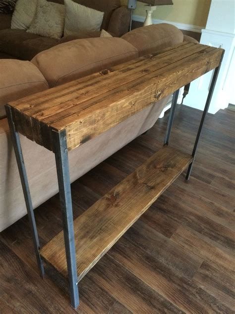 what is sofa table best 25 rustic sofa tables ideas on table