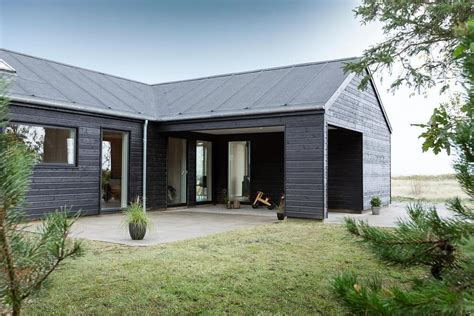 Granny Pods incredible danish wooden house promoting industrial beauty