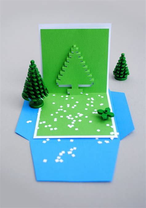 how to make a pixel pop up card 30 pop up cards 2017