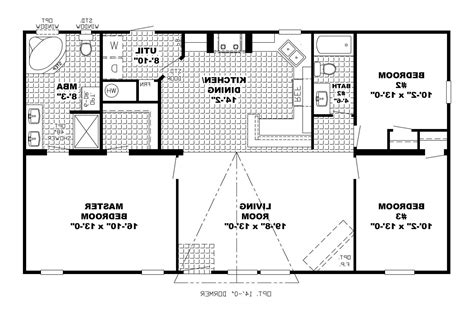 open floor plans small homes 1 story open floor home plans