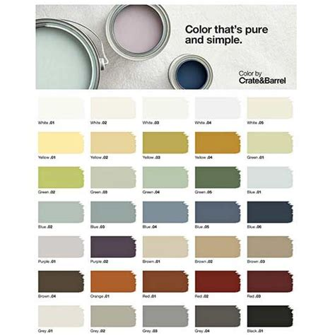 Why We Re Loving Crate And Barrel S New Paint Line Home