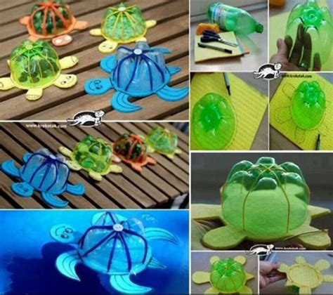 recycled crafts for plastic bottles recycled crafts plastic bottle turtles craft ideas