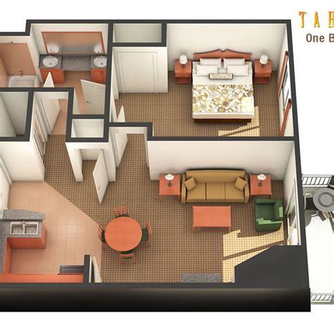 one bedroom suites las vegas one bedroom suite in las vegas tahiti resort