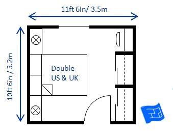 master bedroom sizes bedroom size