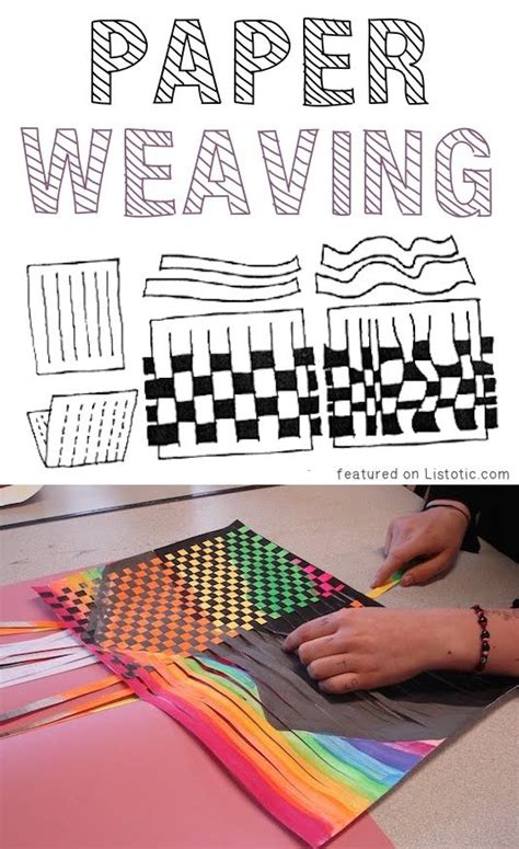 paper craft projects for adults 25 best ideas about paper weaving on