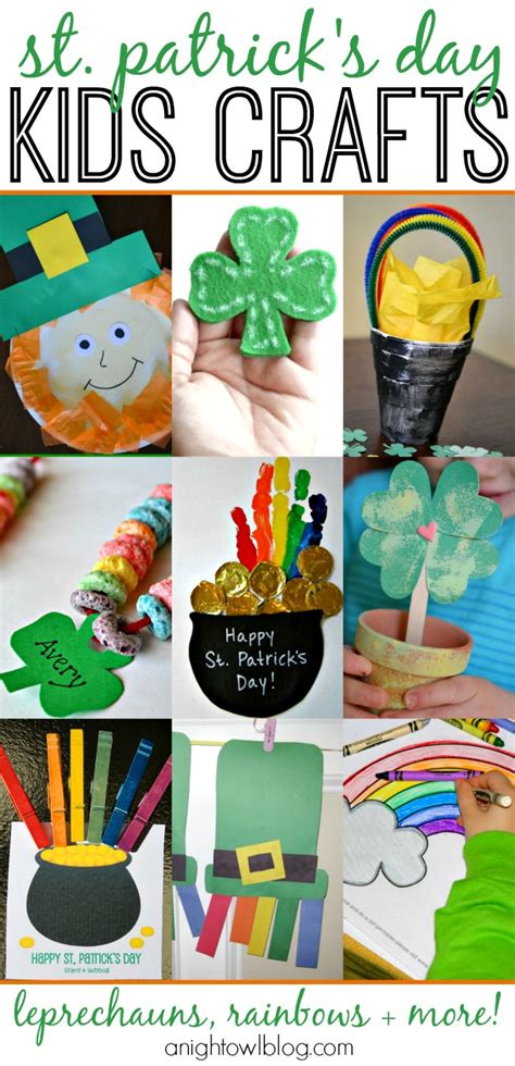 st patricks day kid crafts 25 st s day crafts a owl