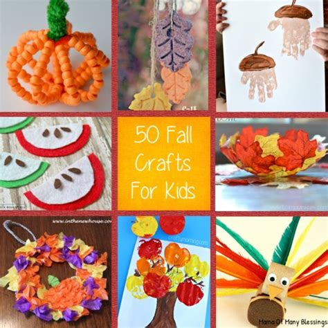 fall kid craft ideas craft ideas for fall that are awesome and easy