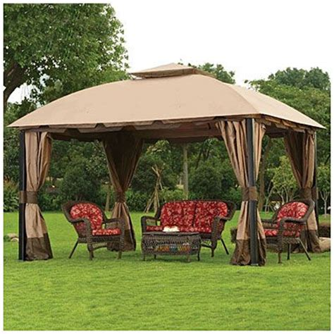Wilson Fisher Patio Furniture by Wilson Amp Fisher 174 South Hampton Gazebo At Big Lots