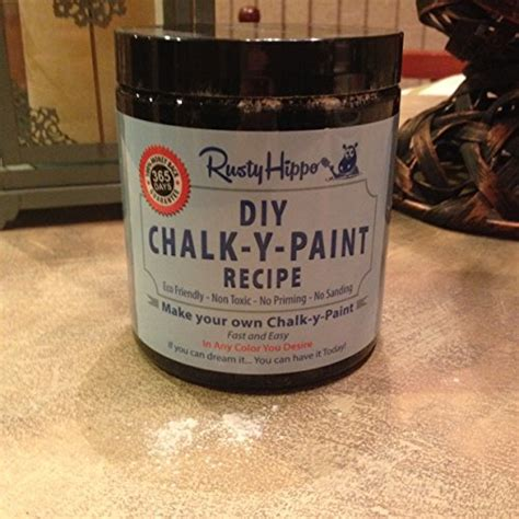 diy chalk paint mixture diy chalk paint powder make your own chalk paint in any