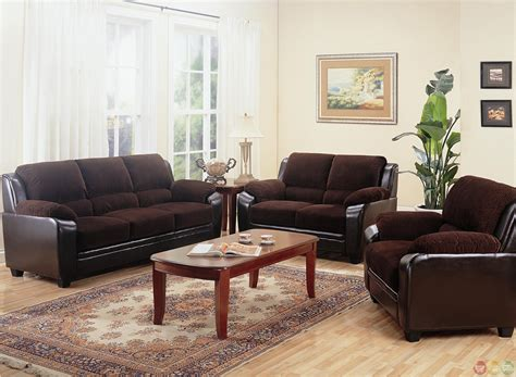 brown sofas in living rooms monika two toned brown corduroy casual living room