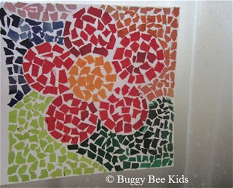 paper craft singapore buggy bee crafts for in singapore mosaic flower