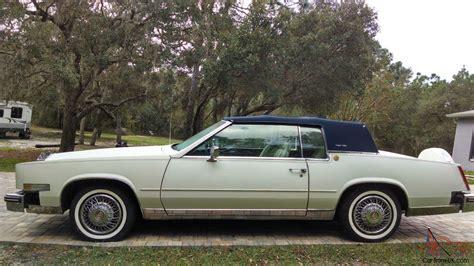 85 Cadillac Eldorado For Sale by 85 Cadillac Eldorado Commemorative Edition