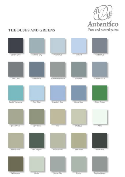autentico chalk paint essex autentico paints colour chart diy shabby chic