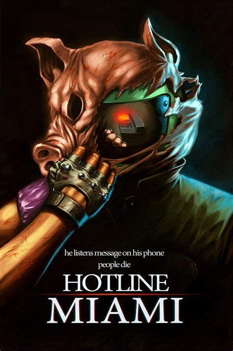 hotline miami by decepticoin on deviantart