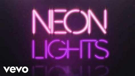 neon lights demi lovato neon lights official lyric