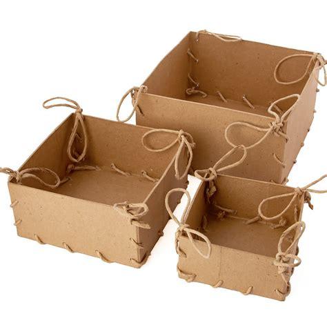 paper mache craft supplies paper mache laced box set craft supplies sale sales