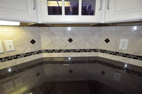 granite tile backsplash black granite countertops with tile backsplash home