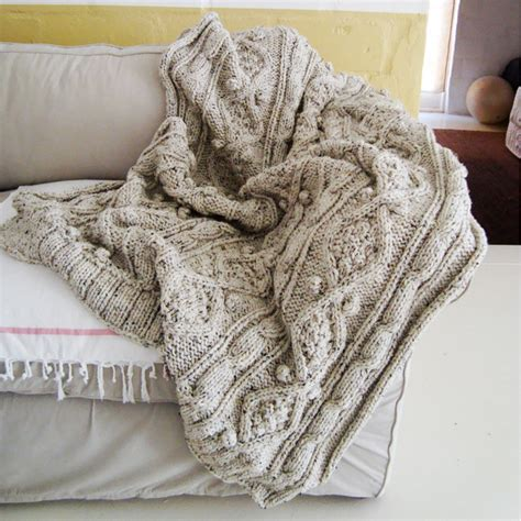 cable knit throw knitting pattern for chunky cable knit throw