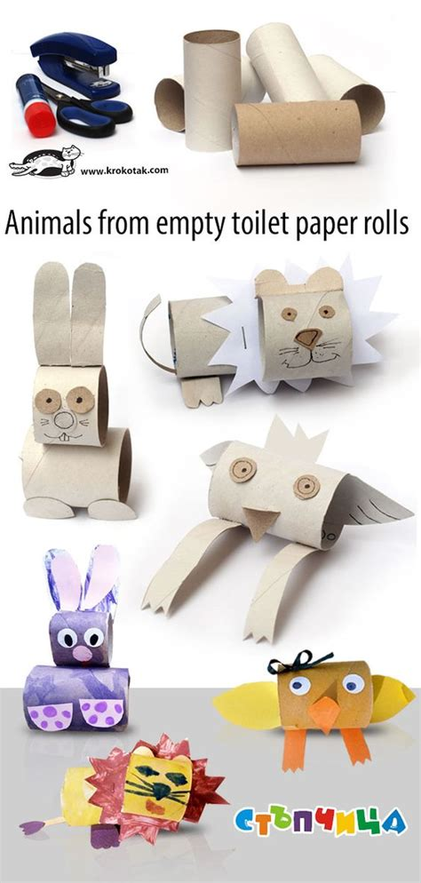 craft ideas using empty toilet paper rolls the world s catalog of ideas