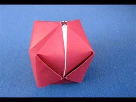 origami balloon origami bomb palla origami how to make a paper balloon