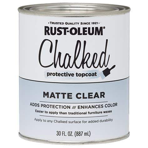 chalk paint top coat chalked protective topcoat product page