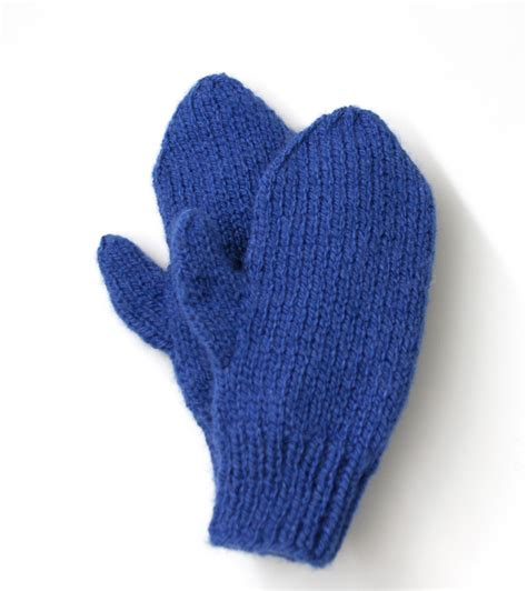 easy knit easy knit mittens in brand jiffy 80673b knitting