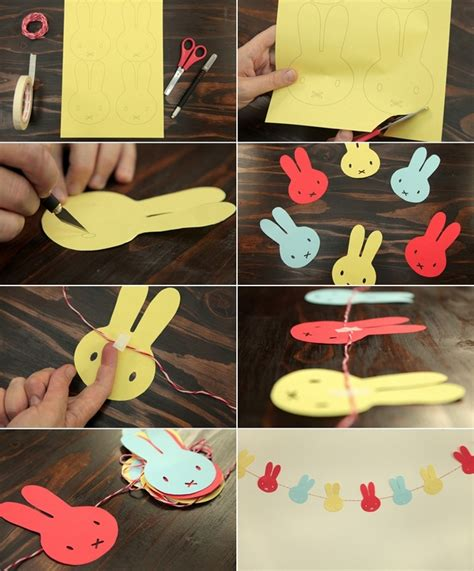 paper craft ideas for home decor 12 diy easter home decorating ideas simple yet