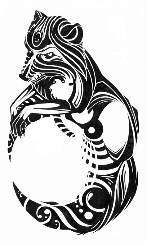 wolf tattoo tribal meaning tattoo collection