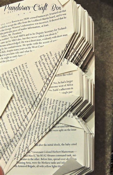 book origami tutorial 17 best images about recycling books folded books