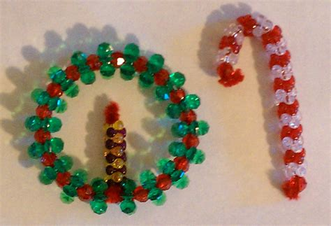 ornaments bead tutorial beaded and wreath keep it thimble