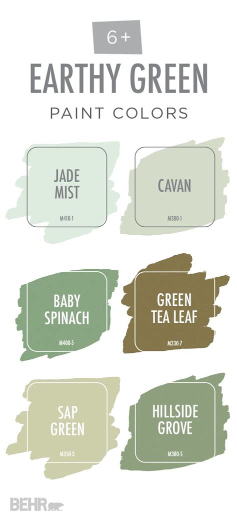 behr green paint color names 564 best new home inspiration images on color